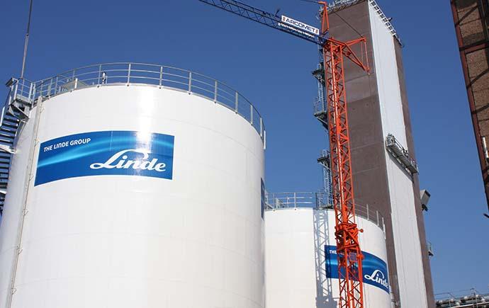 Behälter Stahlbau Schauenberg, LZA 10 Linde