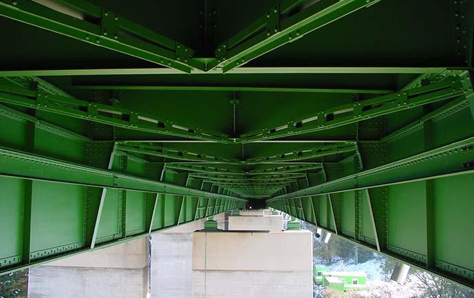 Brücken Referenz Atzlbach Untersicht
