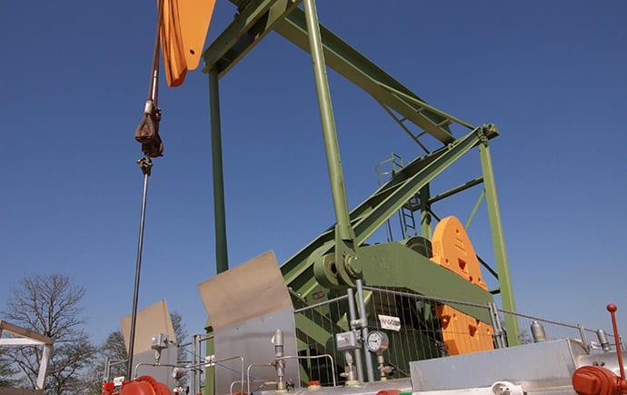 Industrie Referenz RAG Ölförderpumpe