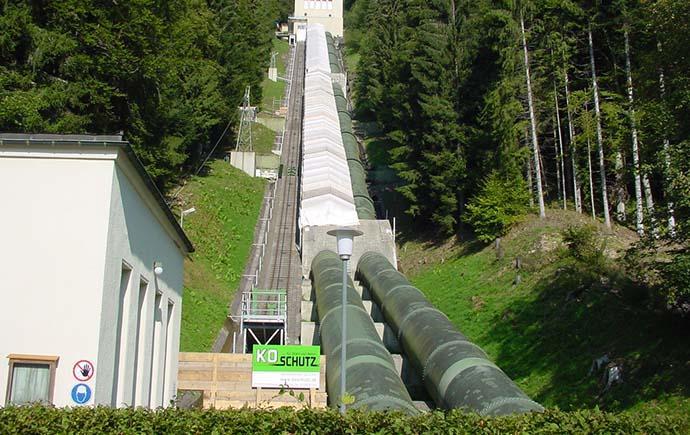 Druckrohrleitungen KW Häusern, Deutschland