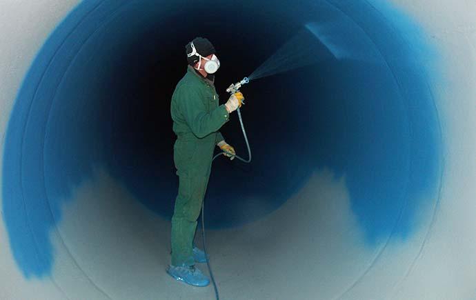 Druckrohrleitungen Referenz Siphon du Gorner Spezialausführung