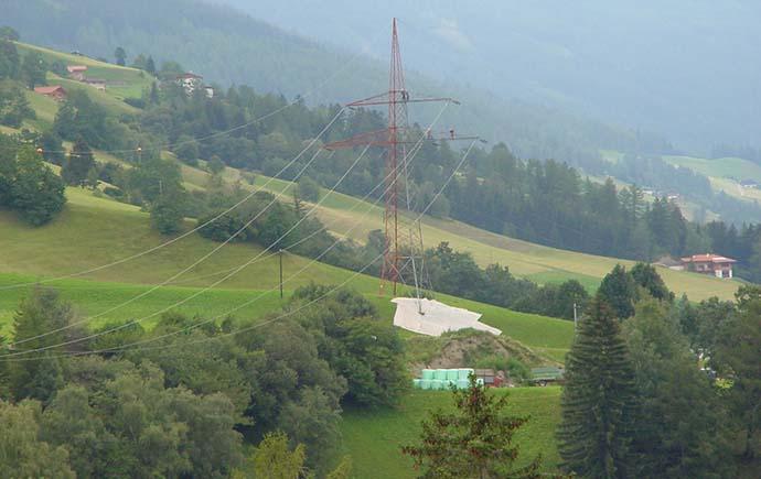 Masten TIWAG Tiroler Wasserkraftwerke AG, Innsbruck