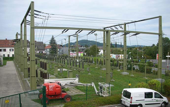 Masten STEWAG Steir. Wasserkraft- und Elektrizitäts AG, Graz