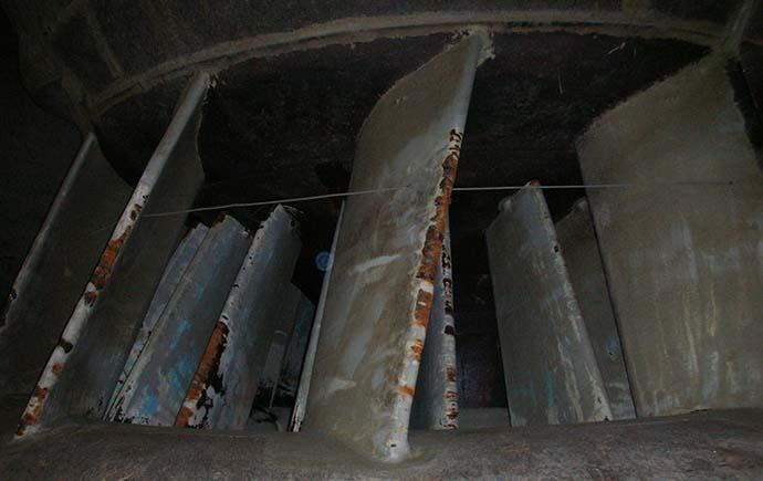 Stahlwasserbau Referenz Turbineneinlauf