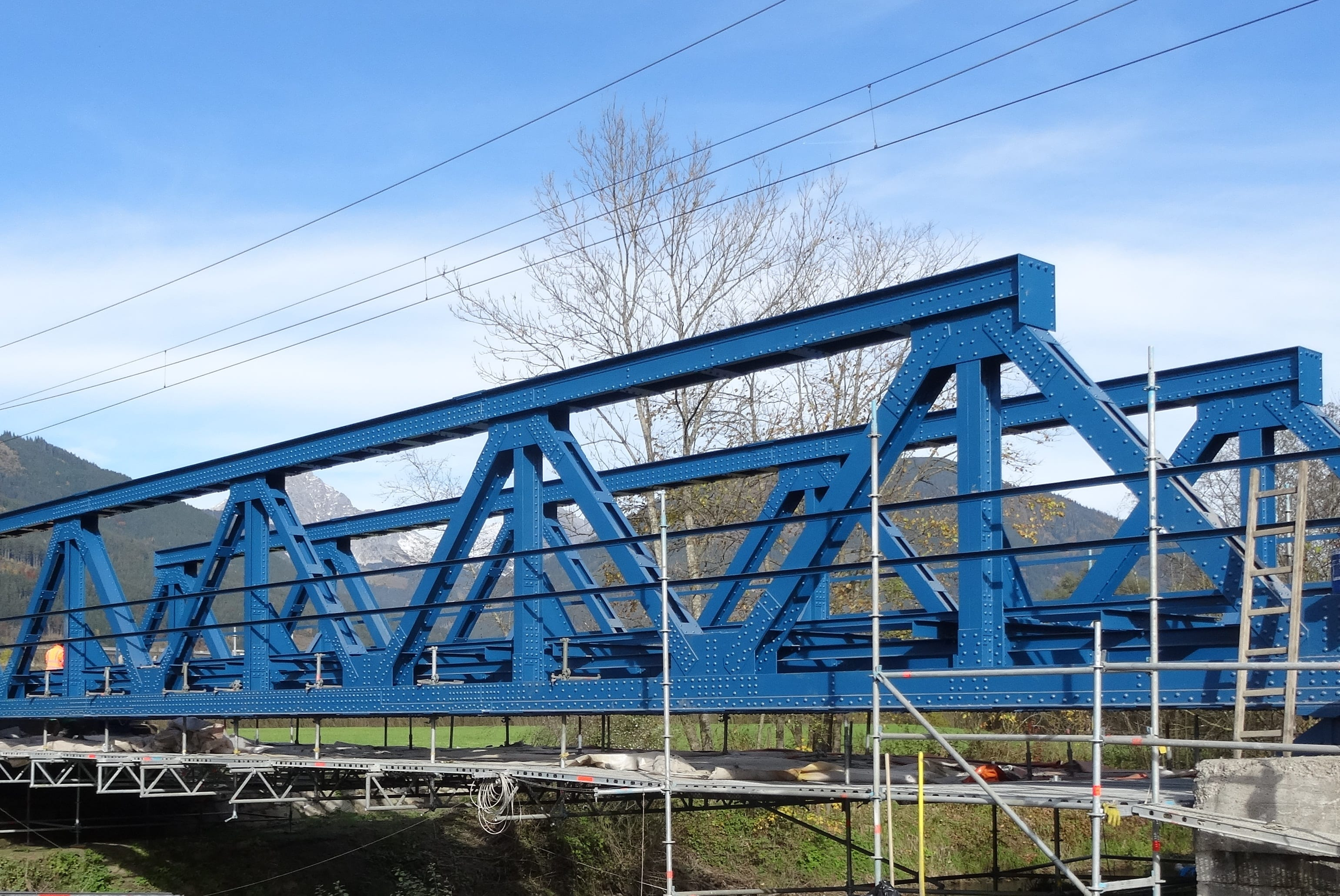 Paltenbachbrücke_Fertiggestellte Beschichtung