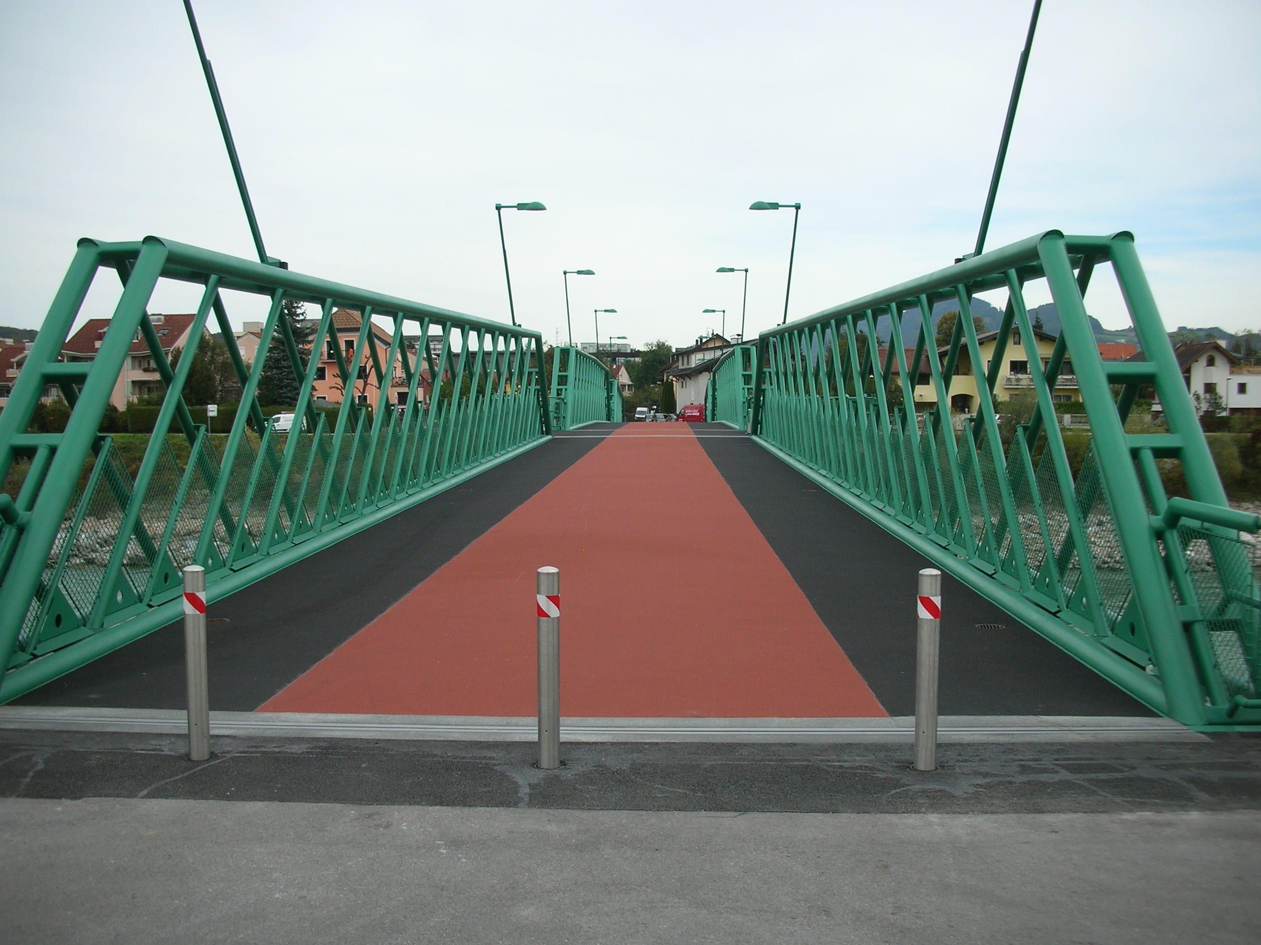 Traklsteg_Fertiggestellte Brücke 1