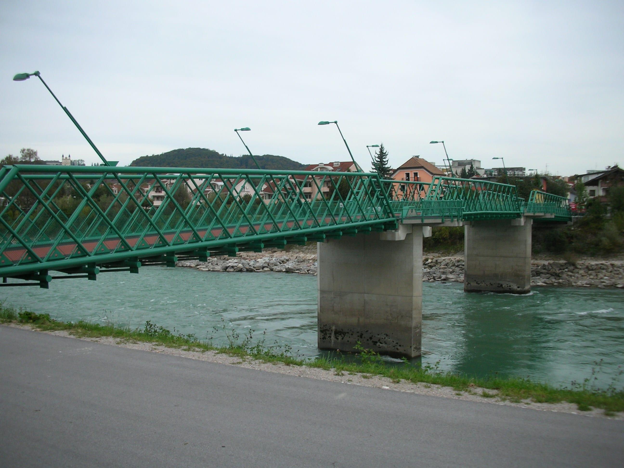 Traklsteg_Fertiggestellte Brücke 2