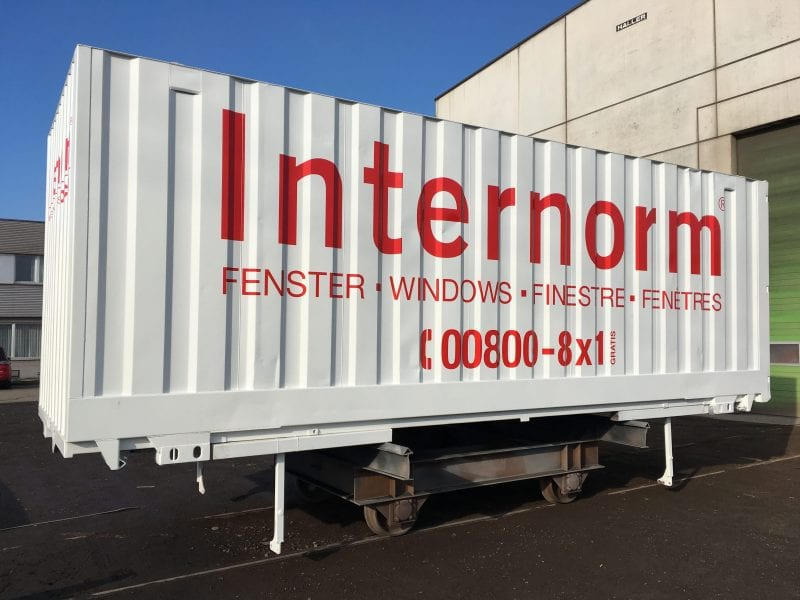 Internorm WAB-Container