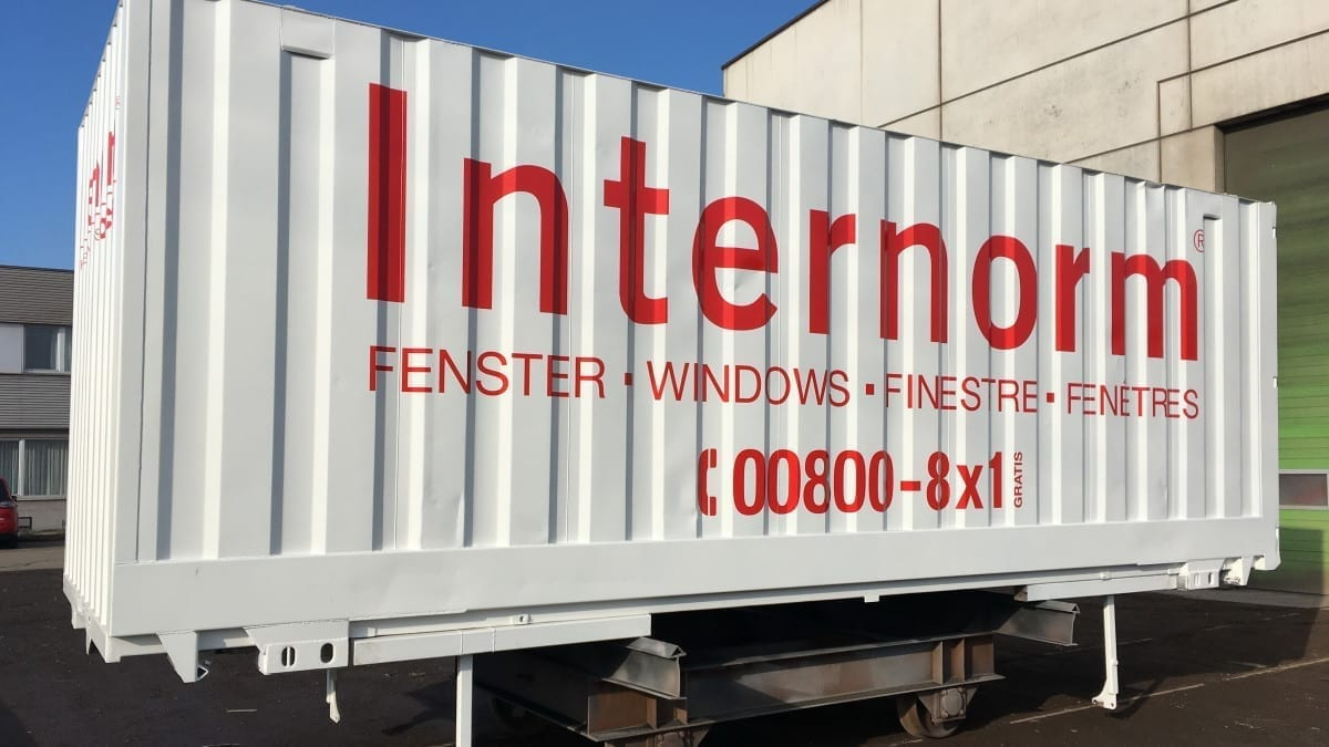 Internorm WAB-Container