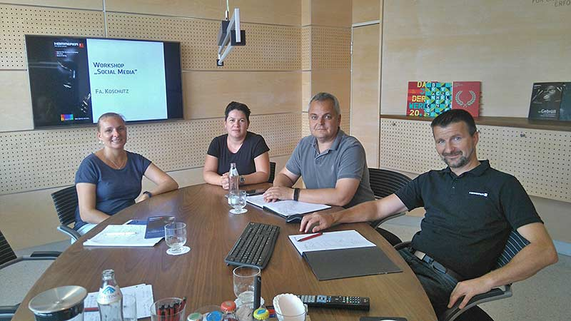 Koschutz – Social Media Workshop mit Hammerer